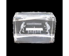 Donic / Кристален блок с 3D изображение
