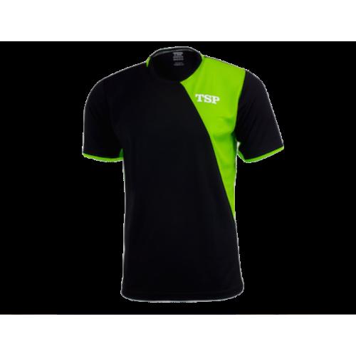TSP / Тениска TAMEO черна/лайм