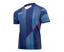 Victas / V-shirt 218 синьо/ червено