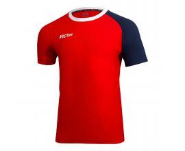 Victas / V-shirt 219 червено / синьо