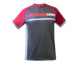 Gewo / Памучна Тениска Fermo Bordeaux