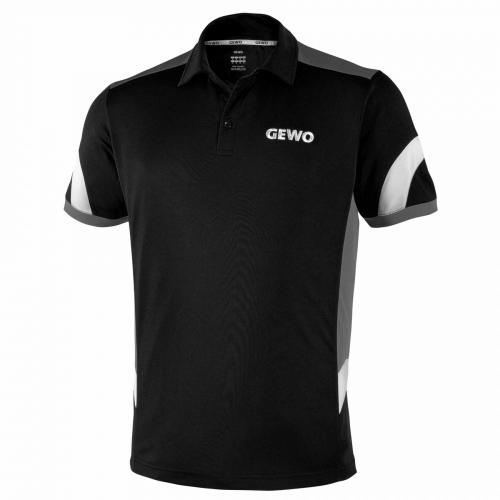 Gewo / Тениска с яка Trapani Черна
